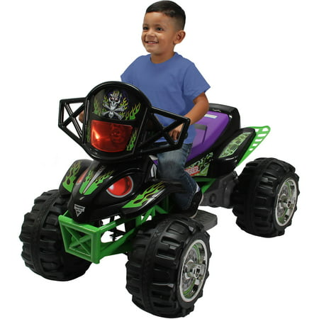 Monster Jam Grave Digger Quad 12-Volt Battery Powered Ride-On