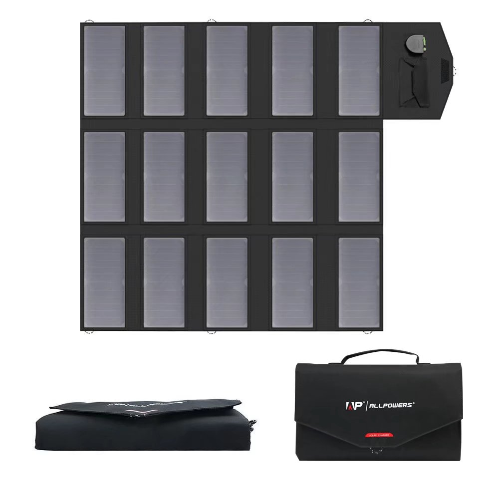 ALLPOWERS 100W Solar Charger (Dual 5v USB+18v DC Output) ...