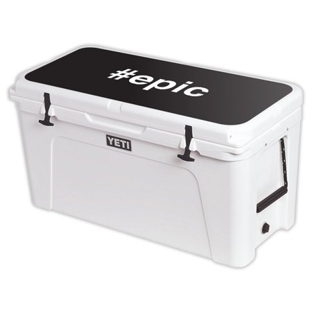 MightySkins Skin For YETI Tundra 110 qt Cooler Lid – Blessed | Protective, Durable, and Unique Vinyl Decal wrap cover | Easy To Apply, Remove, and Change Styles | Made in the USA (Electronic Coolers)