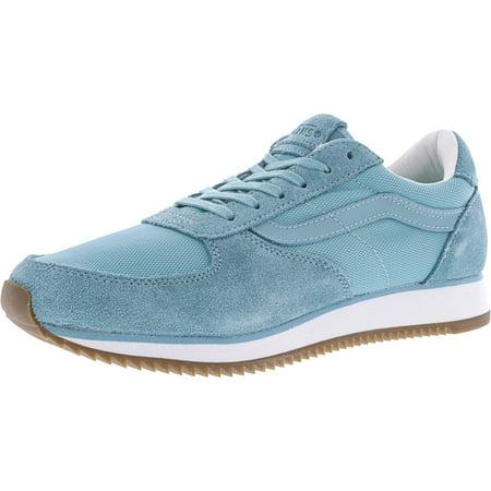 Runner Aqua Sea Ankle-High Suede Running Shoe - 8M /
