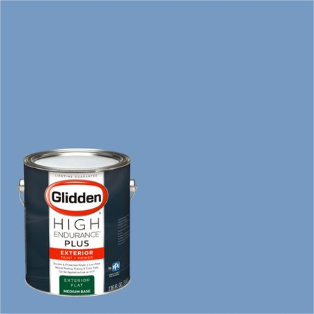 Glidden High Endurance Plus Exterior Paint And Primer Periwinkle Blue 30bb 33 235