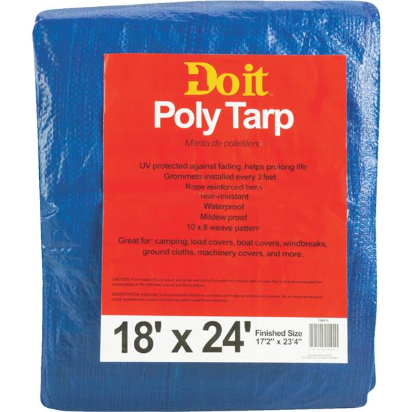 18X24 BLUE MED DUTY TARP 709115