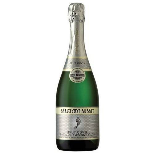 BAREFOOT CELLARS Barefoot Bubbly Brut Cuvee Sparkling Wine, 750 mL