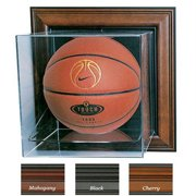 Caseworks International CAS-BB-401-CU-B Case-Up Basketball Display Case - No Logo - Black