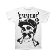 Emmure Men's  Street Skull T-shirt White