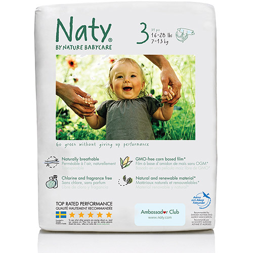 Nature Babycare - Diapers, count 31, Size 3