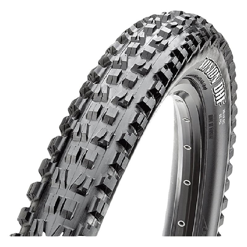 Maxxis Minion DHF Tire 26x2.5 Folding Bead 3C/EXO/TR Black 60TPI Tubeless Ready