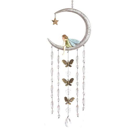 Grasslands Road Fairy in Moon Wind Chimes by Grasslands Road