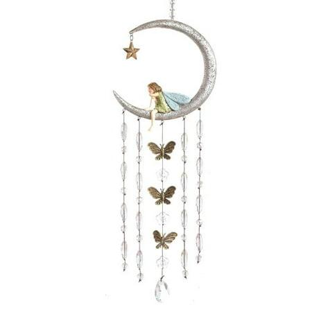 Grasslands Road Fairy in Moon Wind Chimes](Grasslands Road Halloween)