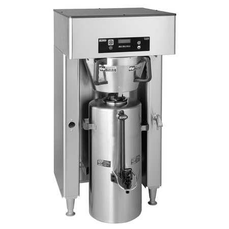 Bunn Single High Volume Coffee Brewer  3 Gal  Stainless Steel  Titan Single