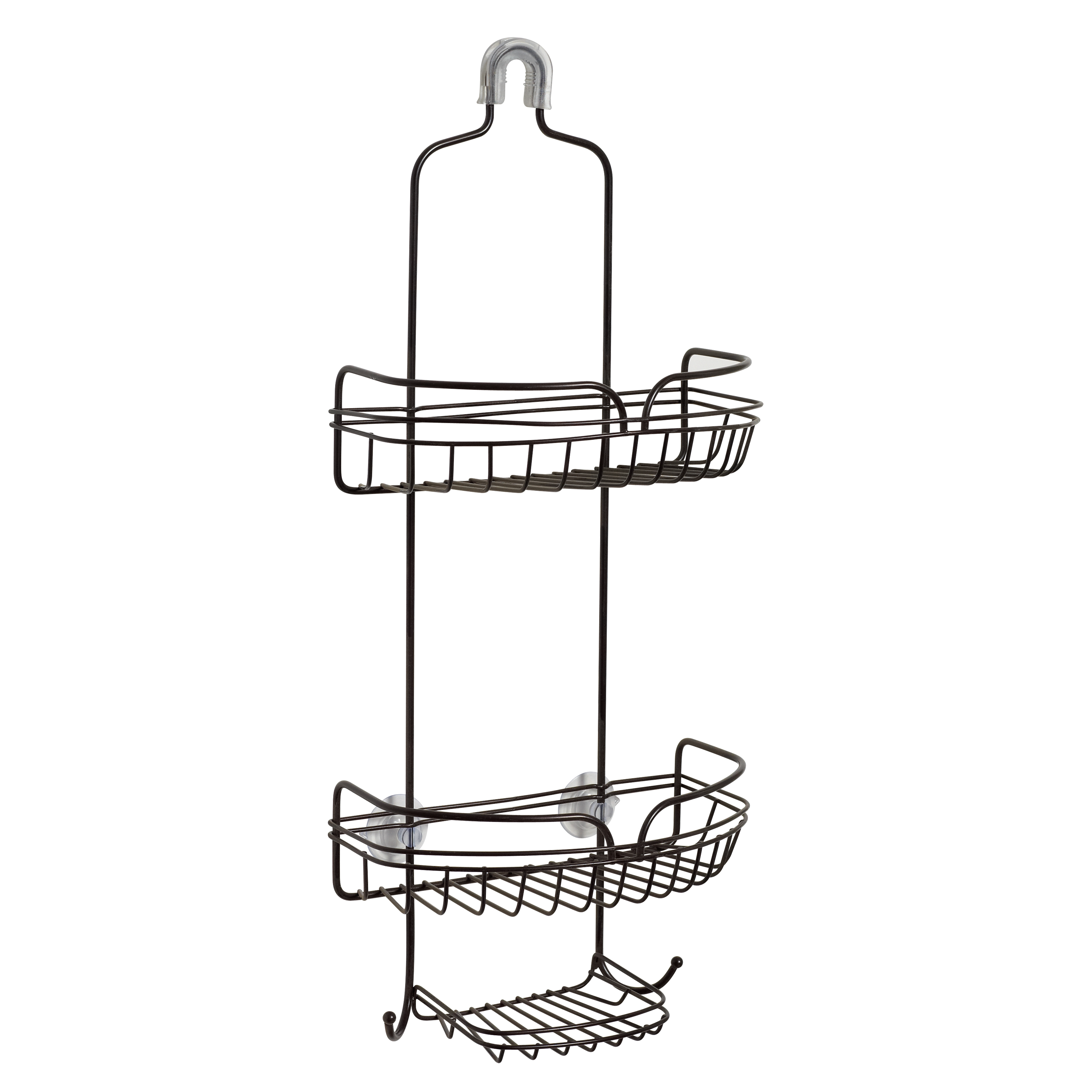 Zenna Home Over-the-Shower Caddy, Bronze