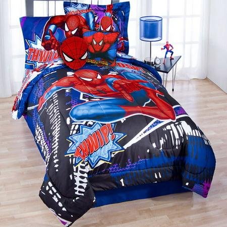 Spiderman Metro Comforter Set Walmart Com