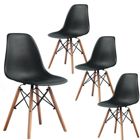 Dining Chairs Dining Room Chairs Kitchen Chairs Mid Century Modern Black Table Chair Set of 4 Plastic Eames for Home Furniture ?Beech Wood Leg?The simple and contemporary design of the dining chairs fits for people?s simple attitude towards life.The dining room chairs will be a perfect complement for your home or office.About the wood legs of the Kitchen Chairs your dog or cat cant chew them.dining chairs Dining Room Chairs Kitchen Chairs Chair for Kitchen side chairs dining?Setup was a cinch?just screw the base (legs of the dining chairs) to the top (seat of the dining room chairs).It's very easy to assemble the Kitchen Chairs.Dining Room Chairs Kitchen Chairs Chair for Kitchen side chairs dining dining chairs?Comfortable and Elegant? This dining chairs are Personality, mid-century modern sensibility dining chairs,Such a dining cahirs with ergonomically designed.Kitchen Chairs Chair for Kitchen side chairs dining dining chairs Dining Room Chairs?Soft Plastic?The dining chairs with soft plastic, you will feel comfortable and relaxation when you seat on the dining room chairs. The kitchen chairs are perfect for home, restaurant, company use etc.Chair for Kitchen side chairs dining dining chairs Dining Room Chairs Kitchen Chairs?Sturdy X-shape Support?Seat bottom of the dining chairs fixed with sturdy X-shape support,Make the kitchen chairs more durable.The dining room chairs maximum limit weight is 250lbs.side chairs dining dining chairs Dining Room Chairs Kitchen Chairs Chair for KitchenFeatures:High quality back rest  for more durability and easy spot cleaning.seat bottom fixed with sturdy X-shape support.light weight sturdy chairs can be used in dining room, guest room, living room, kitchen room, vacation home,extra room, etc.chairs dining chairs dining room chairs kitchen chairs mid century modern chair white chair dining chair chairs for dining room dining chairs set of 4 dinning chairs set of 4 plastic chair modern chair eames chair plastic chairs kitchen chairs set of 4 modern dining chairs white dining chairs dinning chairs white chairs table chairs mid century chair kitchen chair midcentury modern chair modern mid century dining chairs set of 4 dining chairs kitchen table chairs dining room chairs set of 4 mid century modern dining chairs modern chairs dining table chairs eames dinning chair