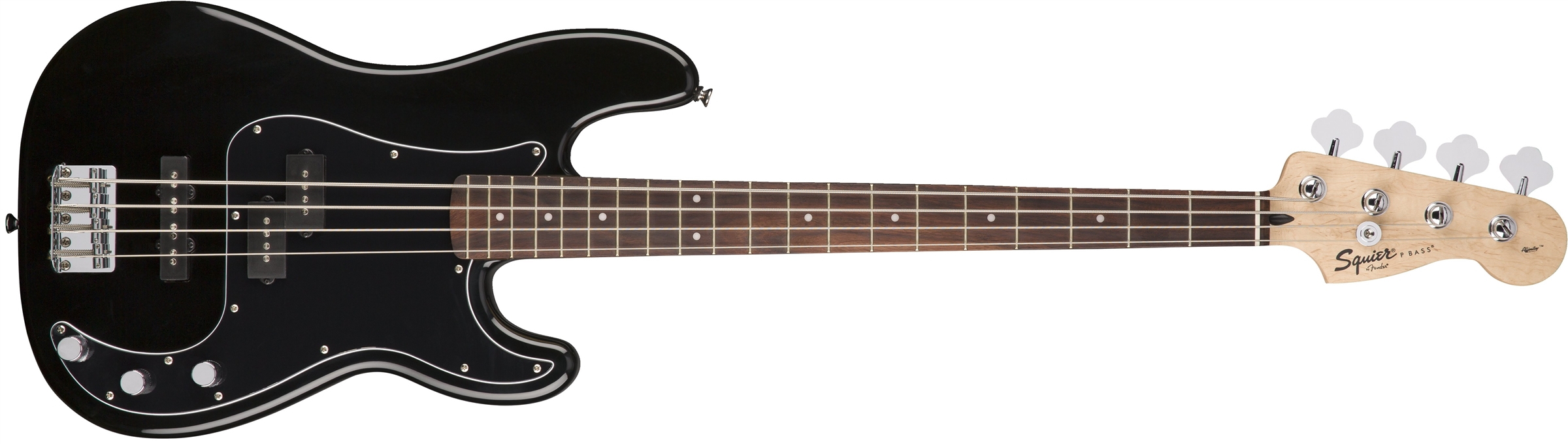 Fender Squier Affinity Series PJ Bass Pack w  Amplifier & Accessories Black by Fender Squier