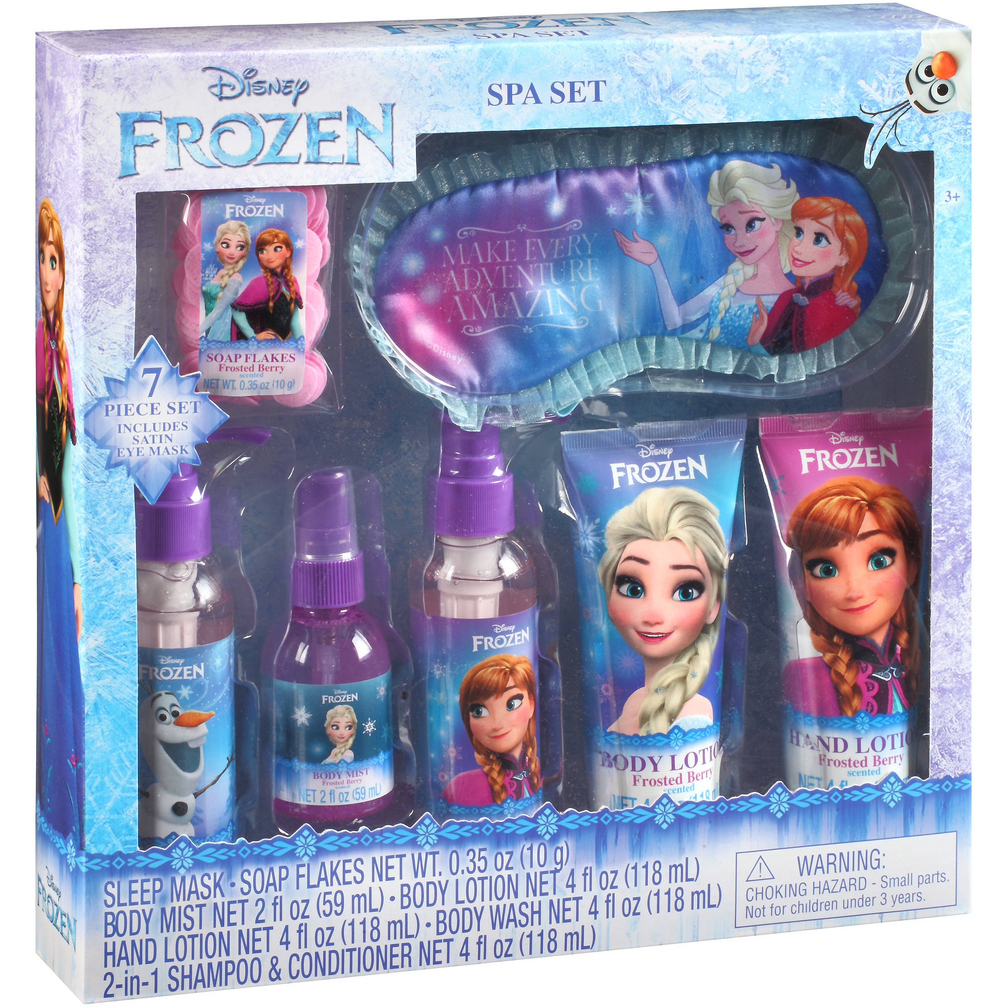 Disney Frozen Spa Set, 7 pc