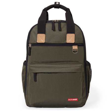 1290c12b3bd2 Duo Backpack - Olive Mini Grid - Walmart.com