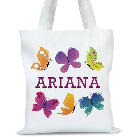 Custom Butterfly Kids Tote Bag, Sizes 11