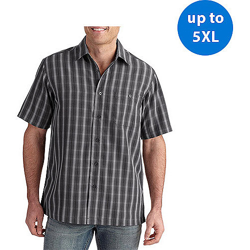 George Big Men's Short Sleeve Microfiber Shirt