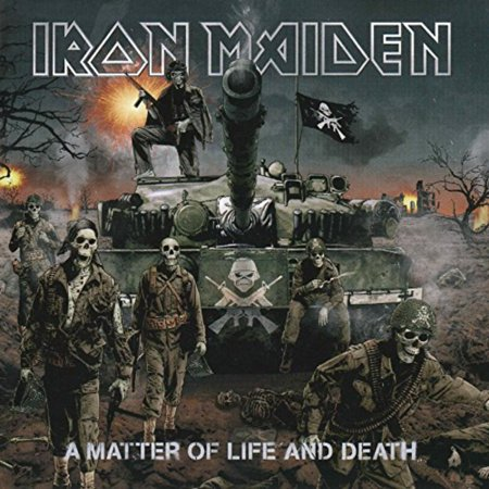 A Matter of Life and Death (2-LP, 180 Gram Vinyl) By Iron Maiden Format Vinyl](Halloween By My Name Iron Maiden)