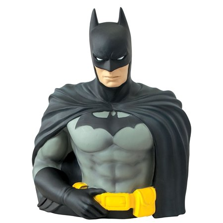 - Batman Bust Bank, DC Comics' Batman as a bust and bank! By Monogram