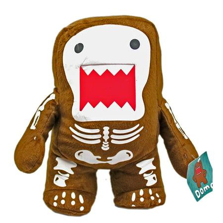 Domo Skeleton Outline Body Adorable Small Size Plush Toy (9in)