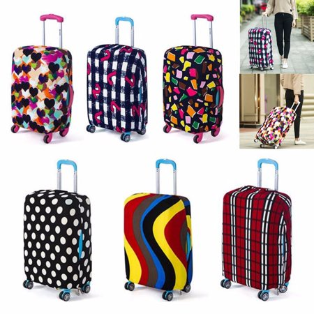 24 Colorful Elastic Luggage Travel Bag Suitcase Protector Cover Dust Proof Case Not