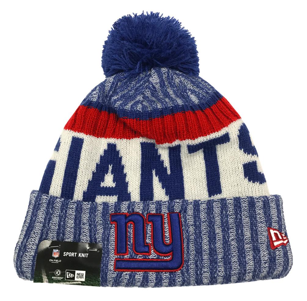 5f80ae8ec4d New Era New York Giants Knit Beanie Cap Hat NFL 2017 On Field Sideline  11460388 - Walmart.com