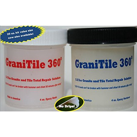 Best Granite Tile and Stone Repair instantly dries to a polished finish - (Granite Ceramics Stone Porcelain Tile)