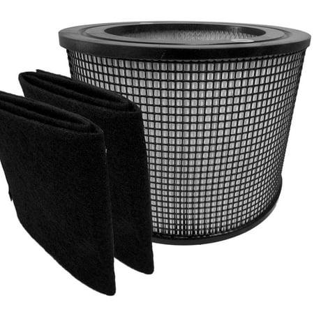 Premium Hepa Plus Filter 2 Carbon Prefilter Wraps For