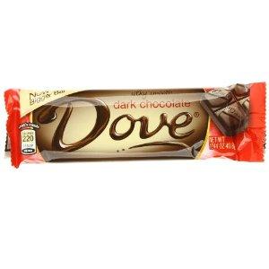 Dove Dark Chocolate Bar - 1.44 Oz, 18 Ea