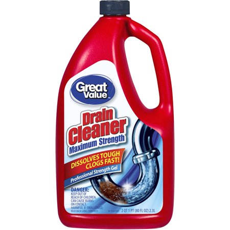 Great Value Professional Strength Drain Clog Remover Gel