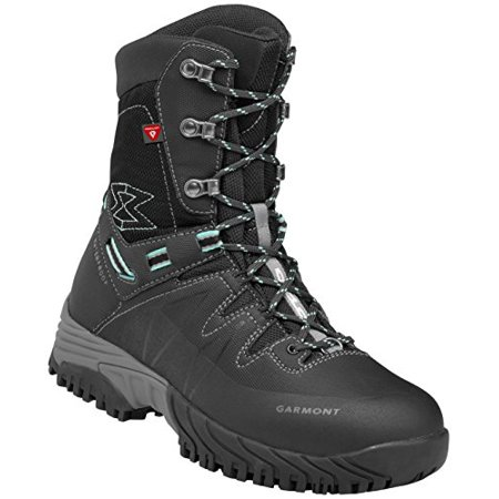 Garmont Momentum Mid Waterproof Hiking Boot - Women's Black/Torquoise