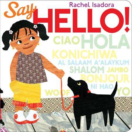 Say Hello (Board Book) (Say Hello To Heaven Temple Of The Dog)