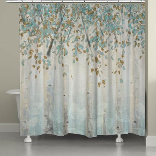 Laural Home  Whimsical Forest Shower Curtain