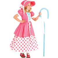 Morris costumes PP4126XS Polka Dot Bo Peep Child Xs 4