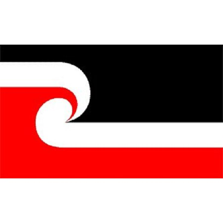 3x5 Maori Flag Tino Rangatiratanga Flag Banner New Zealand Pennant Outdoor New ()