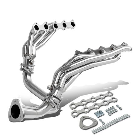 For 1999 to 2004 Ford F250 / F350 Super Duty 6.8L V10 Stainless Steel Mid -Length Exhaust Header Manifold w / Y