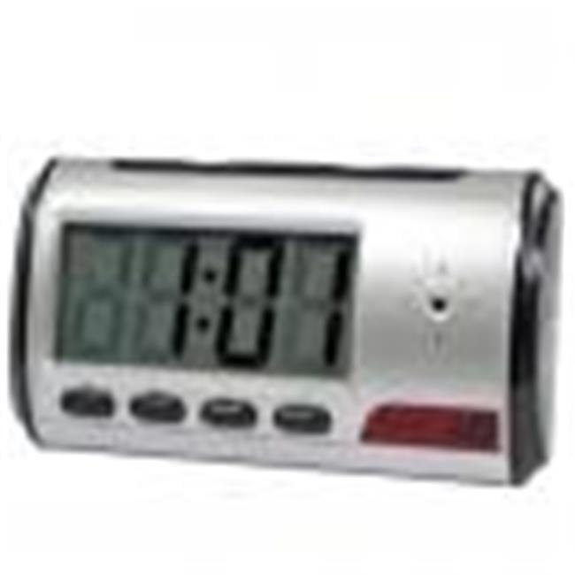 Cutting Edge Products DVRMFC Digital Alarm Clock DVR with motion detector 4GB