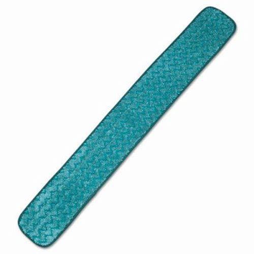 Rubbermaid Q436 Hygen Microfiber 36 Dry Hall Mop Pad Green Walmart Com Walmart Com