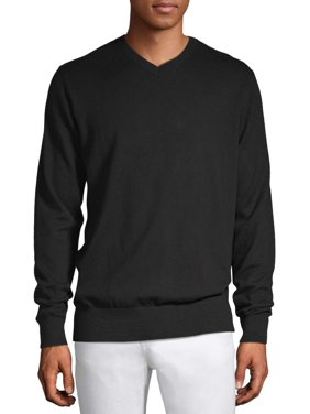 George Men's V-Neck Sweater, up to size 5XL