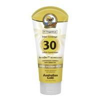 Australian Gold SPF 30 InvisiDry Lotion Sunscreen, Sheer Coverage, 6 FL OZ
