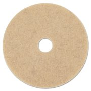 "Boardwalk Natural Hog Hair Burnishing Floor Pads, 19"" Diameter, 5/Carton -BWK4019NHE"