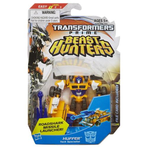 Transformers Prime Beast Hunters Commander Class Figure: Huffer