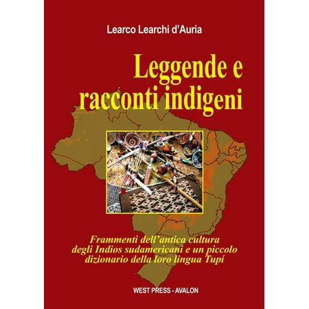 Leggende e racconti indigeni - eBook](Leggende Halloween)