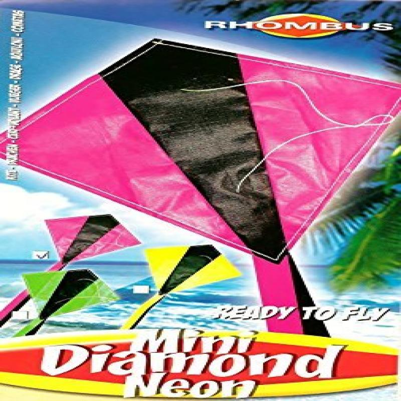 Mini Diamond Kite with Line Included (12 PACK) by