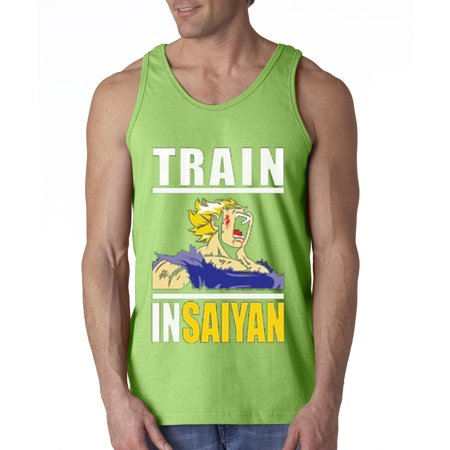 New Way 292 - Men's Tank-Top Train Insaiyan Gym Goku Dbz Dragon Ball Z - Dbz Goku Costume