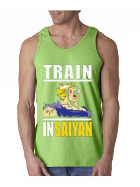 f0e1f0b8edd292 Product Image New Way 292 - Men s Tank-Top Train Insaiyan Gym Goku Dbz  Dragon Ball Z