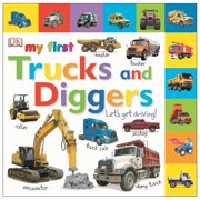 My 1st Trucks and Diggers (Board Book)