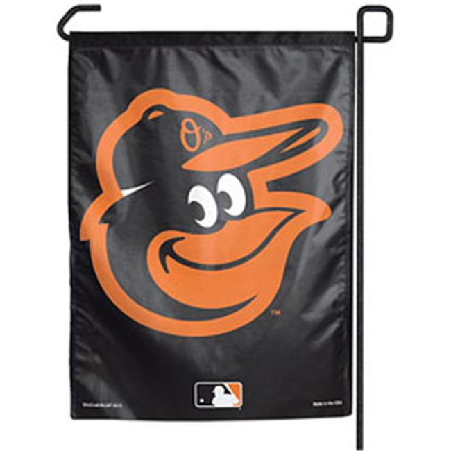 Baltimore Orioles 11''x15'' Garden Flag - Black Gooney Bird