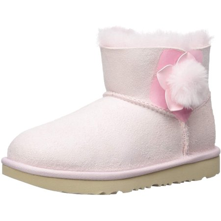 UGG Girls' K Mini Bailey II Cactus Flower Fashion Boot seashell pink 3 M US Little Kid - image 1 de 1